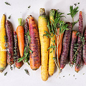 carrots colorful